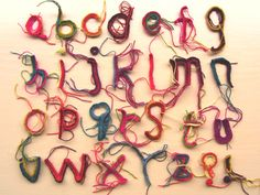 Alphabet   Thread                                                                                        by Tim Mitsuko