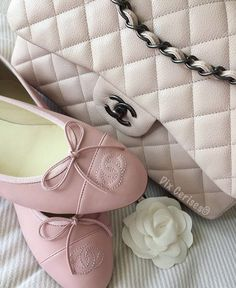 Imagem de chanel, girly pink, and soft pink chanel