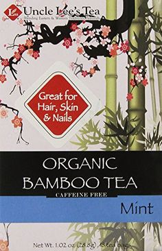 Uncle Lee's Tea Organic Tea, Bamboo Mint, 18 Count ** Check out this great product.
