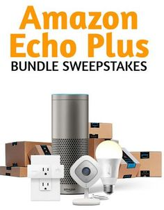 Amazon Echo Smart Home Bundle Sweepstakes Mobile Technology, Technology News, Amazon Prime Membership, Thing 1, Amazon Echo, Mobile Photography, Security Camera, Smart Home, Entertainment