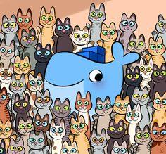 Happy International Cat Day!  #InternationalCatDay #docker International Cat Day, Laurel, Illustration, 3 D, Snoopy, Comics, Happy, Fictional Characters, Cat Breeds
