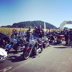 Short before the Parade is about to start at the European Bike Week 2015 #carporn #carswithoutlimits #carsofinstagram #picoftheday #harley #harleydavidson #europeanbikeweek #motorbike