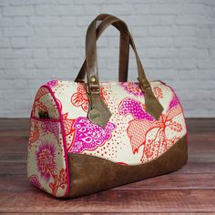 Swoons Blanche Barrel Bag Digital Sewing Pattern