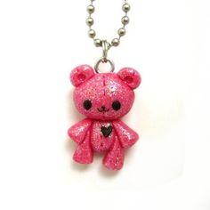 Clay teddy bear