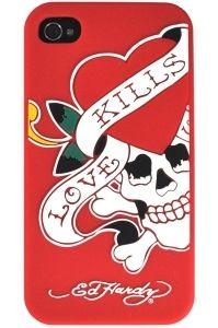 LOVE KILLS ED HARDY SIP41003 IP4 MOLD LKS RED