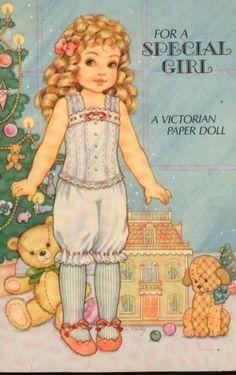 VICTORIAN GIRL CHRISTMAS 1