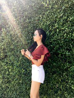 Chiang Rai, White Shorts, Crop Tops, Women, Fashion, Moda, Fashion Styles, Fashion Illustrations, Cropped Tops