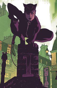 Catwoman by Adam Hughes Comic Book Artists, Comic Book Characters, Comic Artist, Comic Character, Comic Books Art, Character Design, Adam Hughes, Red Sonja, Batman Et Catwoman