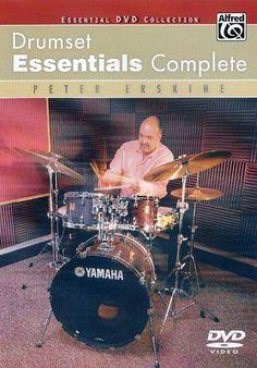 Peter Erskine: Drumset Essential, Complete [DVD]