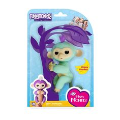 Fingerlings Little Interactive Baby Monkey Electronic Toy For