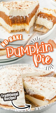 Pumpkin Pie Cheesecake, No Bake Pumpkin Pie, Baked Pumpkin, Pumpkin Dessert, Pie Dessert, Dessert Recipes, Canned Pumpkin Pie Filling, Pumkin Pie, Easy Pumpkin Pie