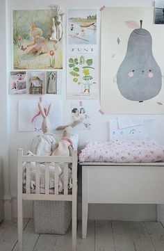 lovely little girl's room. for a baby.
