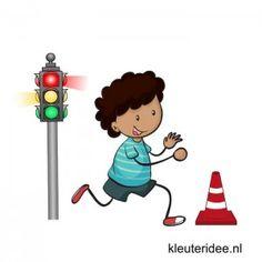 Gymles voor kleuters, thema verkeer en vervoer 1, kleuteridee.nl
