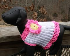 Free crochet patterns dog sweaters shop free crochet patterns