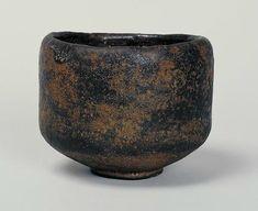 Tea Bowl, named 'Ayame', Raku ware, By Chojiro, Momoyama period, 16th century. H.8.9 MD.10.2 BD.4.6 ©2014 MOA MUSEUM OF ART