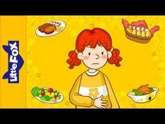 Engels liedje voor kleuters met beeld over de maaltijd