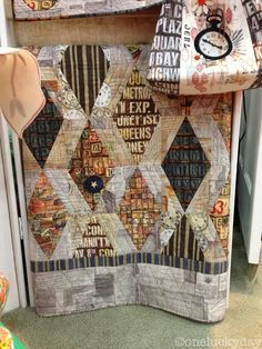 Houston Quilt Market - part 1...Tim Holtz fabric
