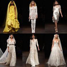 Недавно в Нью-Йорке прошла очередная свадебная Неделя моды! Свои коллекции в рамках fashion-марафона представили такие звезды индустрии, как Monique Lhuillie, Naeem Khan, Ines Di Santo, Lela Rose, Marchesa и другие. Судя по последним тенденциям сейчас в свадебной моде господствует элегантная классика. Дизайнеры стремятся придать подвенечному платью больше функциональности и современности, сделать его не «платьем на один день».