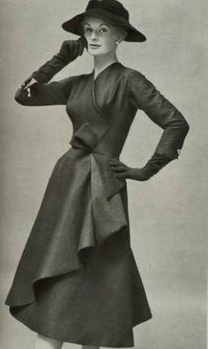Jean Desses dress, 1956
