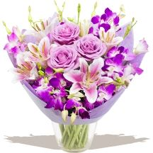 Mothers Day Orchid Plant & Chocolates Orchid Plants, Orchids, Gifts Delivered, Flowers Delivered, Glass Vase, Bouquet, Day, Chocolates, Floral