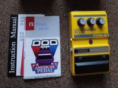 DOD FX50-B Overdrive Plus