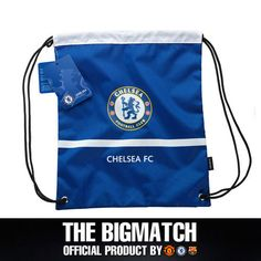Chelsea Official Backpack soccer shoes Gym sack bag CFC-AC003 #EON #DuffleGymBag