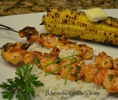 My absolute favorite grilled shrimp recipe . . . too good not to share!