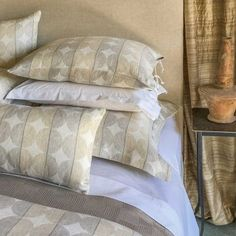 ANICHINI Decorative Pillows & Rugs | Luxury Silk, Brocade, Linen, and Tapestry Pillows