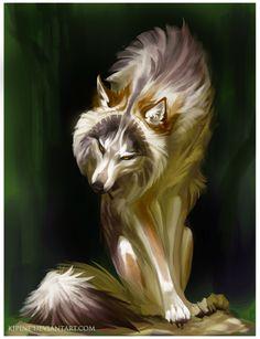 Wolf by Kipine.deviantart.com on @DeviantArt