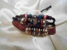 Bracelet Genuine Leather bracelet  de jowel por DaWanda.com