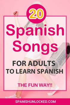 20 SPANISH SONGS for Adults to Learn Spanish - the Fun Way! 20 SPANISH SONGS for Adults to Learn Spanish - the Fun Way!,Spanisch lernen humor music tock videos dances tok videos funny you so obsessed with me tik tok Spanish Music, Spanish Phrases, Spanish Vocabulary, Spanish Words, Spanish Lessons, Spanish Humor, Classical Music, Learning Spanish For Kids, Spanish Language Learning