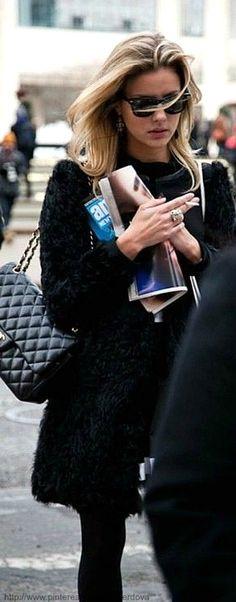 Street style - Chanel