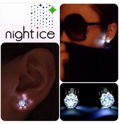 Get ready with #NightIce LED earrings! Grab a pair to top off your #SuperCityFest outfit!