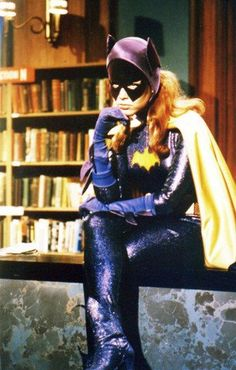 Batgirl was a librarian in the Batman series (from the 1960's)
