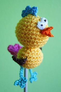 Amigurumi Crazy Chick Free pattern