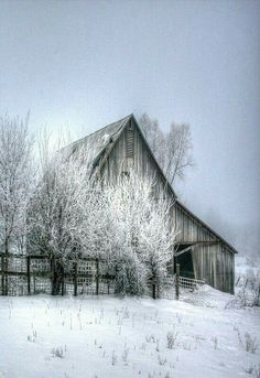 ~Charming Winter Country Cottage~