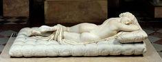 Hermaphrodite, roman copy of 2nd century B.C. original