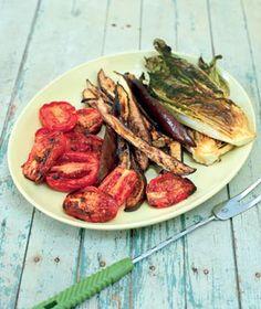 Grilled-Eggplant Salad Recipe via Real Simple