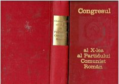 The 10th Congress of the Romanian Communist Party 1969, PCR propaganda book The 10, Magazines, Party, Books, Ebay, Journals, Libros, Book, Parties