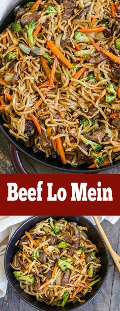 Easy to make Authentic Beef Lo Mein recipe so easy! Homemade sauce and all the t… Easy to make Authentic Beef Lo Mein recipe so easy! Homemade sauce and all the tips. Authentic Beef Lo Mein Recipe, Beef Lo Mein Recipe Easy, Beef Lo Mein Noodles Recipe, Chicken Low Mein Recipe, Easy Authentic Chinese Recipes, Chow Mein Sauce Recipe, Healthy Lo Mein Recipe, Easy Chinese Food Recipes, Lo Mein Sauce