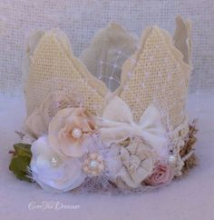 Little Woodland Fairy Crown whimsical enchanted by EverTheDream