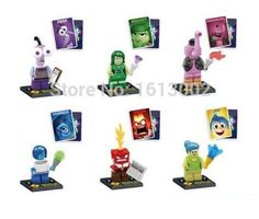 Lego Compatible Pixar Inside Out Minifigures Lot of 6 | Toys & Hobbies, Building Toys, Other Building Toys | eBay!