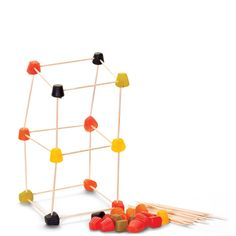 Build highest tower using midget gems and cocktail sticks Craft Stick Crafts, Crafts For Kids, Scientific Skills, Midget Gems, Cocktail Sticks, Camping Crafts, Reggio, Party Games, Kids Toys