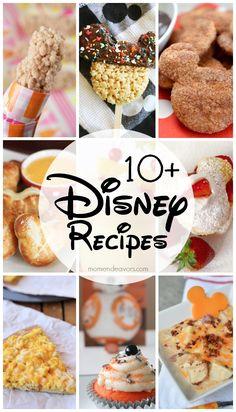 10+ Disney Recipes
