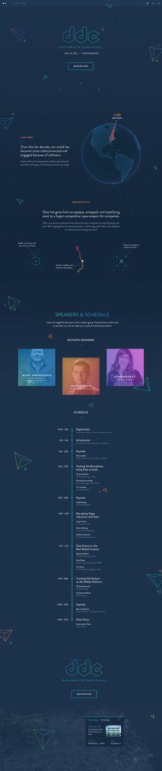 Unique Web Design, DDC #webdesign #design (http://www.pinterest.com/aldenchong/)