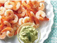 Revive this party staple by setting out a bountiful platter of shrimp with three bowls of zingy new sauces. For an appetizer, plan on 1...
