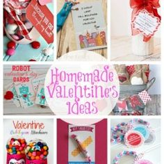 20 Homemade Valentine's Ideas