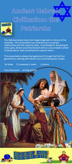 ancient hebrew civilization the patriarchs powerpoint presentation