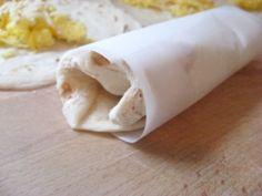 New Nostalgia – Breakfast Burritos For The Freezer