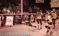 Great pic from the LA Derby Dolls v Penn All-Stars bout. You have to zoom in and see the crowd faces. So worth it!!